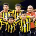 Gold for Blind Footballers
